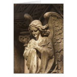 Angel Statue with Crossed Hands, Buenos Aires Greeting Card