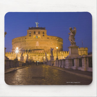 Angel statues on the Ponte Sant'Angelo with the Mouse Pad