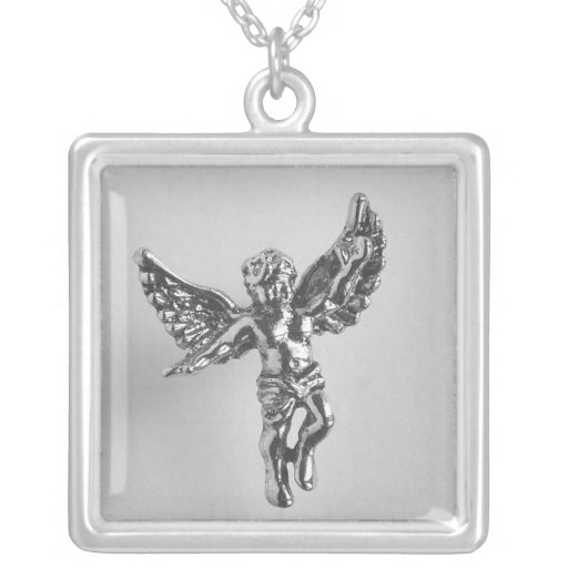 Angel Sterling Silver Necklace