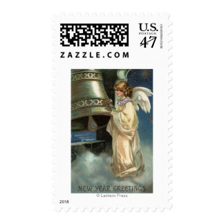 Angel Striking Bell with Mallet Postage