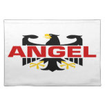 Angel Surname Place Mat