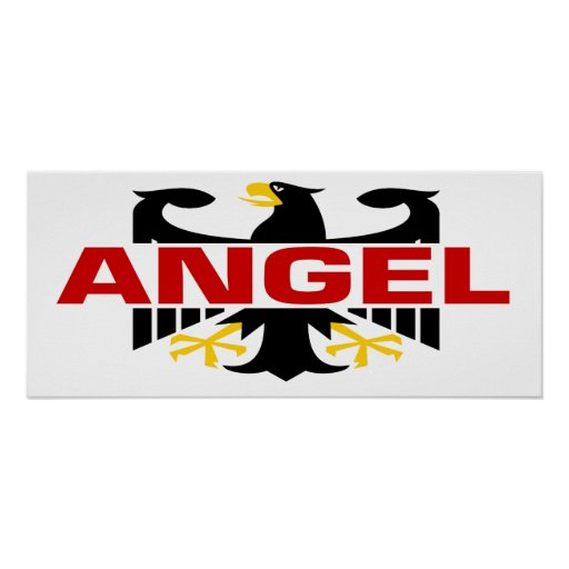 Angel Surname Posters