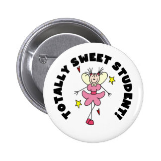 Angel Sweet Student Pinback Button