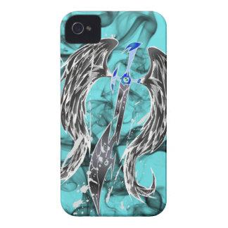 Angel Sword's Justice Black iPhone 4 Case-Mate Case