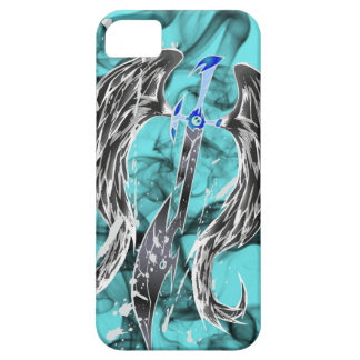 Angel Sword's Justice Black iPhone SE/5/5s Case