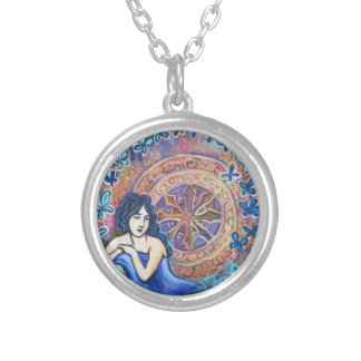 Angel tarot X, The Wheel of Fortune, Necklace