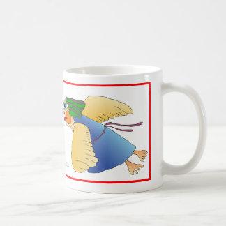ángel taza de café