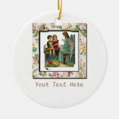 Angel Teaching Children Ceramic Ornament at Zazzle
