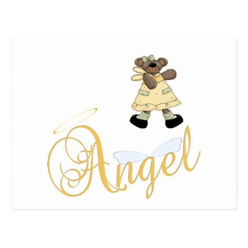 Angel Teddy Bear 6 Post Cards