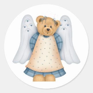 Angel Teddy Bear D11 Stickers