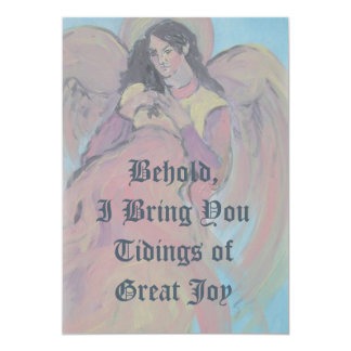 Angel Template Christmas Photo Greeting Card