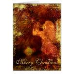 Ángel texturizado del navidad felicitaciones