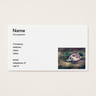 Angel Tortoise Business Cards
