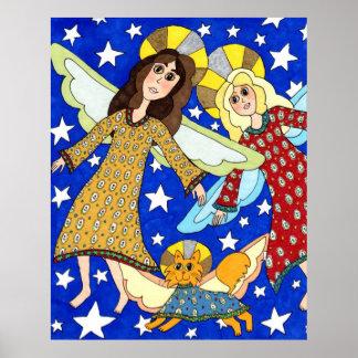 Angel Trio Poster