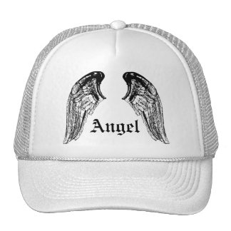 angel trucker hat