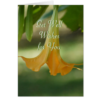 Angel Trumpet Greeting-customize any occasion Greeting Card