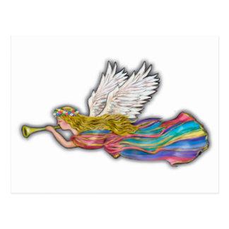 Angel Trumpet - no bk Postcard