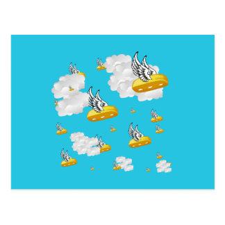Angel Twinkies Postcard
