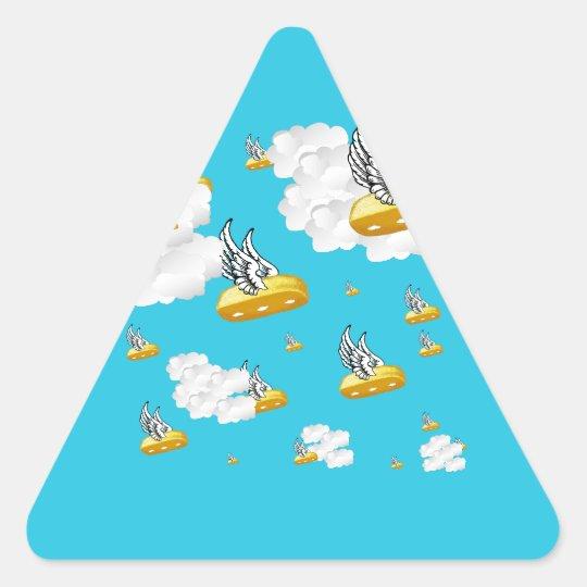 Angel Twinkies Triangle Sticker