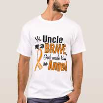 Angel Uncle Leukemia T-Shirt