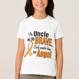 Angel Uncle Leukemia T-Shirt