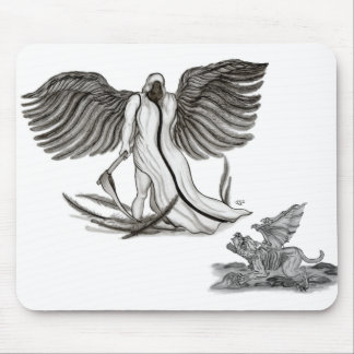 Angel Uriel Mouse Pad