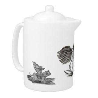 Angel Uriel Teapot