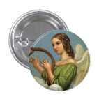 Angel Vintage Button