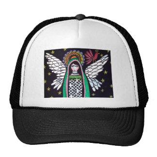 Angel Virgin of Guadalupe Art by Heather Galler Trucker Hat
