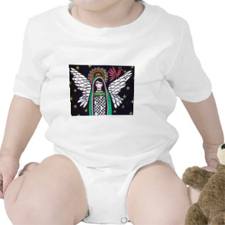 Angel Virgin of Guadalupe Art by Heather Galler Tee Shirts