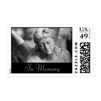 Angel Visits • Sympathy Stamp