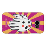 Hand shaped Angel Voice Samsung Galaxy S6 Case