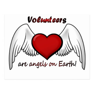 Angel Volunteers Postcard