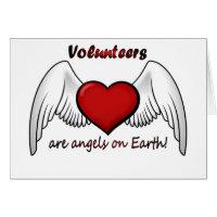 Angel Volunteers Thank You Card