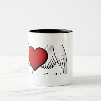 Angel Volunteers Two Tone Mug