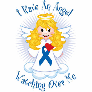 Angel Watching Over Me Blue Ribbon Statuette
