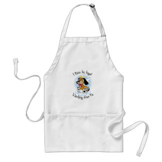 Angel Watching Over Me Dog Adult Apron