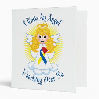 Angel Watching Over Me Down Syndrome 3 Ring Binder