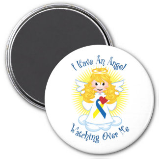 Angel Watching Over Me Down Syndrome Magnet