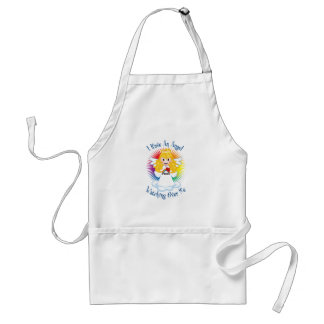 Angel Watching Over Me LGBTQ Adult Apron