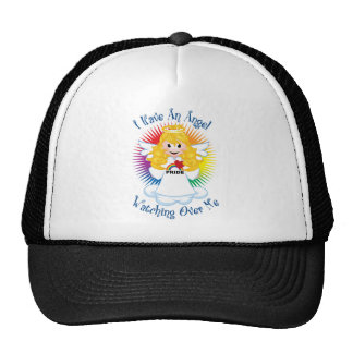 Angel Watching Over Me LGBTQ Trucker Hats