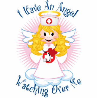 Angel Watching Over Me Nurse Statuette
