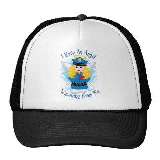 Angel Watching Over Me Police Mesh Hats