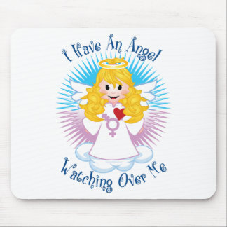 Angel Watching Over Me Transgender Mouse Pad
