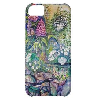 Angel Watercolor Garden iPhone 5C Cases