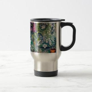 Angel Watercolor Garden Travel Mug