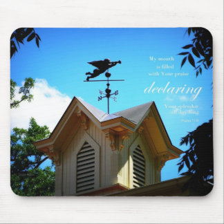 Angel Weather-Vane Mousepad