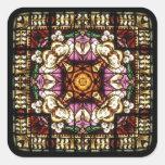 Angel Window Kaleidoscope Sticker
