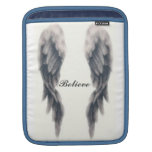 Angel Wing Believe Sleeves For iPads
