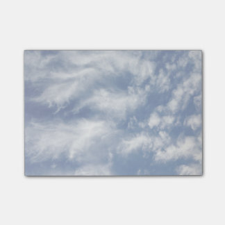Angel Wing Clouds Lightened Post-it Notes